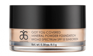 arbonne mineral powder