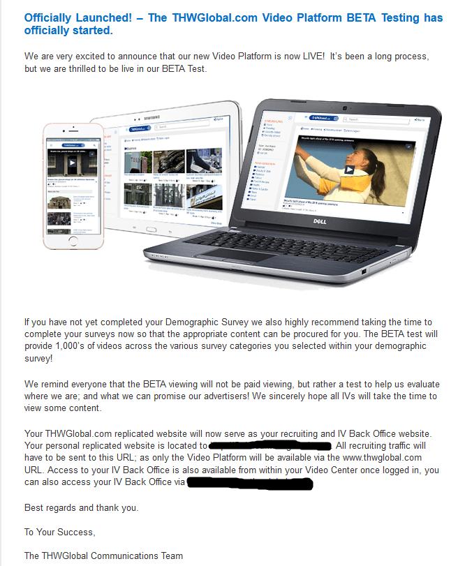 Thwglobal email